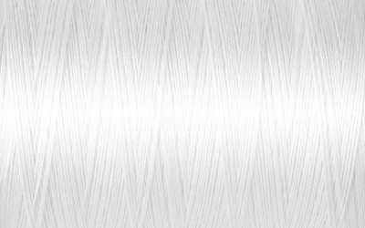 Gutermann Natural Cotton Thread No 5709 White 400m