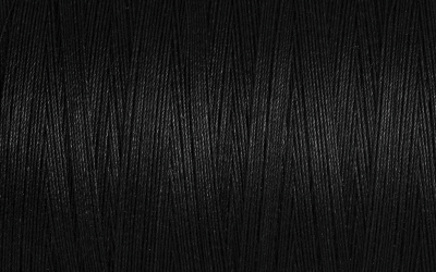 Gutermann Natural Cotton Thread No 5201 – Black 400m