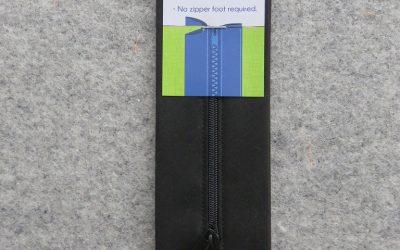 June Tailor – Zippity-Do Done! Zipper with Casing – 18″ Black