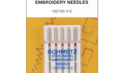 Schmetz Embroidery Needles 90/14