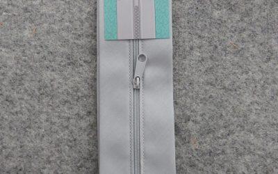 June Tailor – Zippity-Do Done! Zipper with Casing – 18″ Grey
