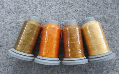 Glide – Pack of 4 Threads – Honey Gold/Marigold/Desert Sunset/Buttercup