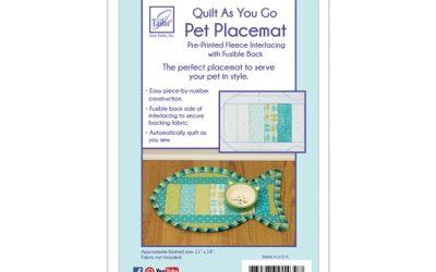 June Tailor Quilt As You Go – Pet Placemat – Fish – (JT-1439)