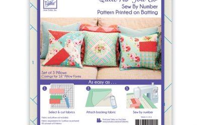 June Tailor Quilt As You Go – Set of 3 Pillows (JT-1491)