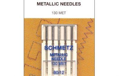 Schmetz Metallic Needles 80/12
