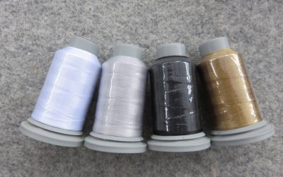 Glide – Pack of 4 Threads – Super White / Cool Grey 3 / Vegas Gold / Black