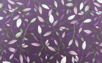 Amethyst Garden by Clothworks – Y2786-95 Indigo (2566)