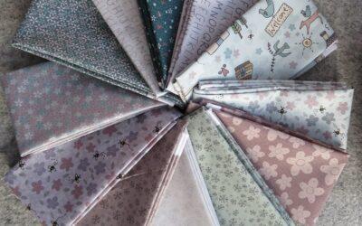 Lynette Anderson – Sunshine After The Rain Fabric Bundle – 12 x Fat 1/8th's (SATR)