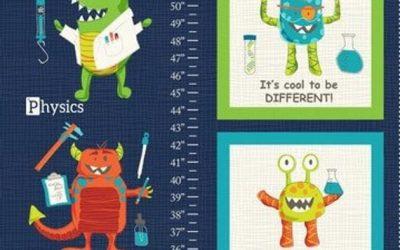 Monster Lab Height Chart Panel (Mons)