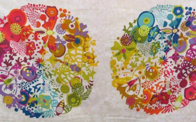 Alison Glass Art Theory Panel by Makower (AGAT)