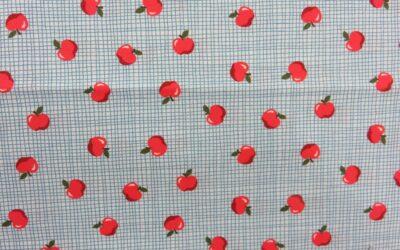 Michael Miller – Apple Orchard – CX9335 – Blue-D – (3218)