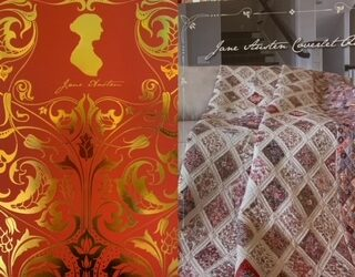 Jane Austen Coverlet Quilt Kit by Riley Blake
