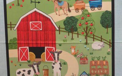 Around the Farm – Farmyard Panel by Michael Miller (FYP)