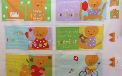 Baby Book Panel – You're Purrfect to Me! – (PURR)