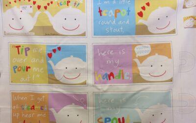 Baby Book Panel – I'm a Little Teapot – (TEA)